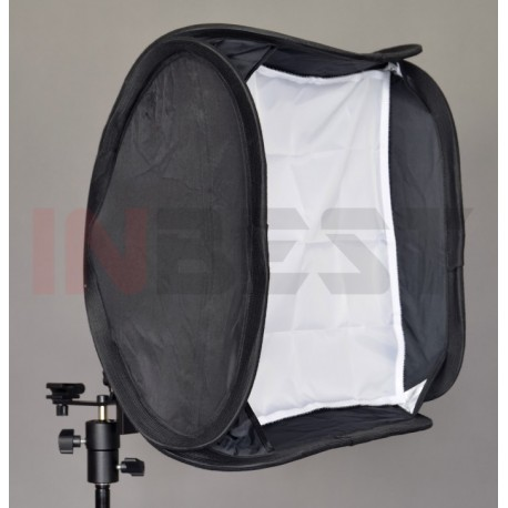SOFTBOX REPORTERSKI 3D 40x40cm do LAMP z FUTERAŁEM