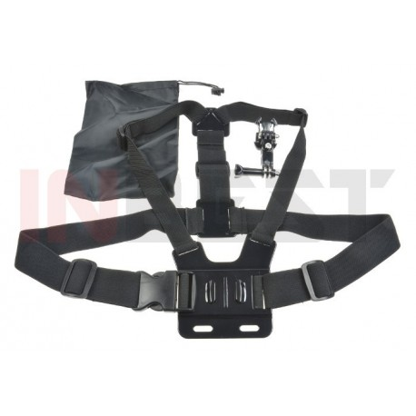 SZELKI UCHWYT 3D CHEST MOUNT do KAMER GoPro HERO