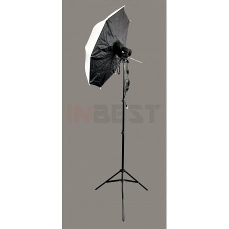 ZESTAW OŚWIETLENIOWY 2x125W + SOFTBOX 110cm