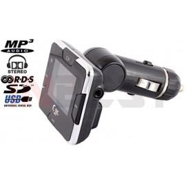 TRANSMITER FM MP3/WMA FULL RDS 1,4'' LCD SD/USB