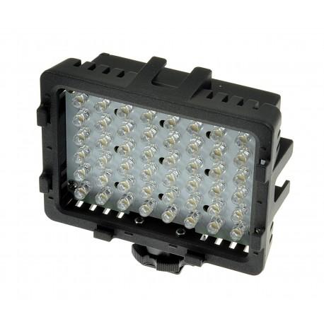 LAMPA DIODOWA DO KAMER 48 LED 5400/3200K +3 FILTRY