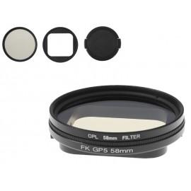 Filtr polaryzacyjny CPL do kamer GoPro HERO 5 6