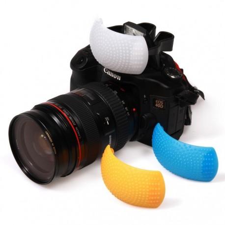 Dyfuzor POP-UP do Nikon, Canon, Olympus, Pentax, Panasonic, Fujifilm