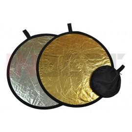 Blenda srebrno-złota 110cm
