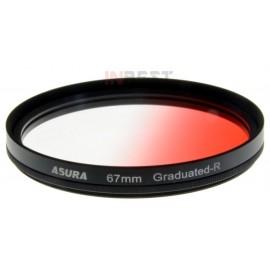 Filtr połówkowy czerwony 67mm ASURA
