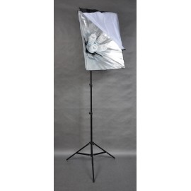 LAMPA SOFTBOX 50x70CM ZESTAW 2000W 300cm