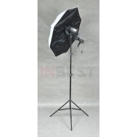 ZESTAW LAMPA 150Ws LP42 + STATYW + PARASOL SOFTBOX