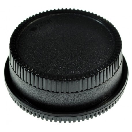 Komplet dekielków do Nikon (do body + tylny na obiektyw)