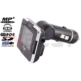 TRANSMITER FM MP3/WMA FULL RDS 1,4'' LCD SD/USB