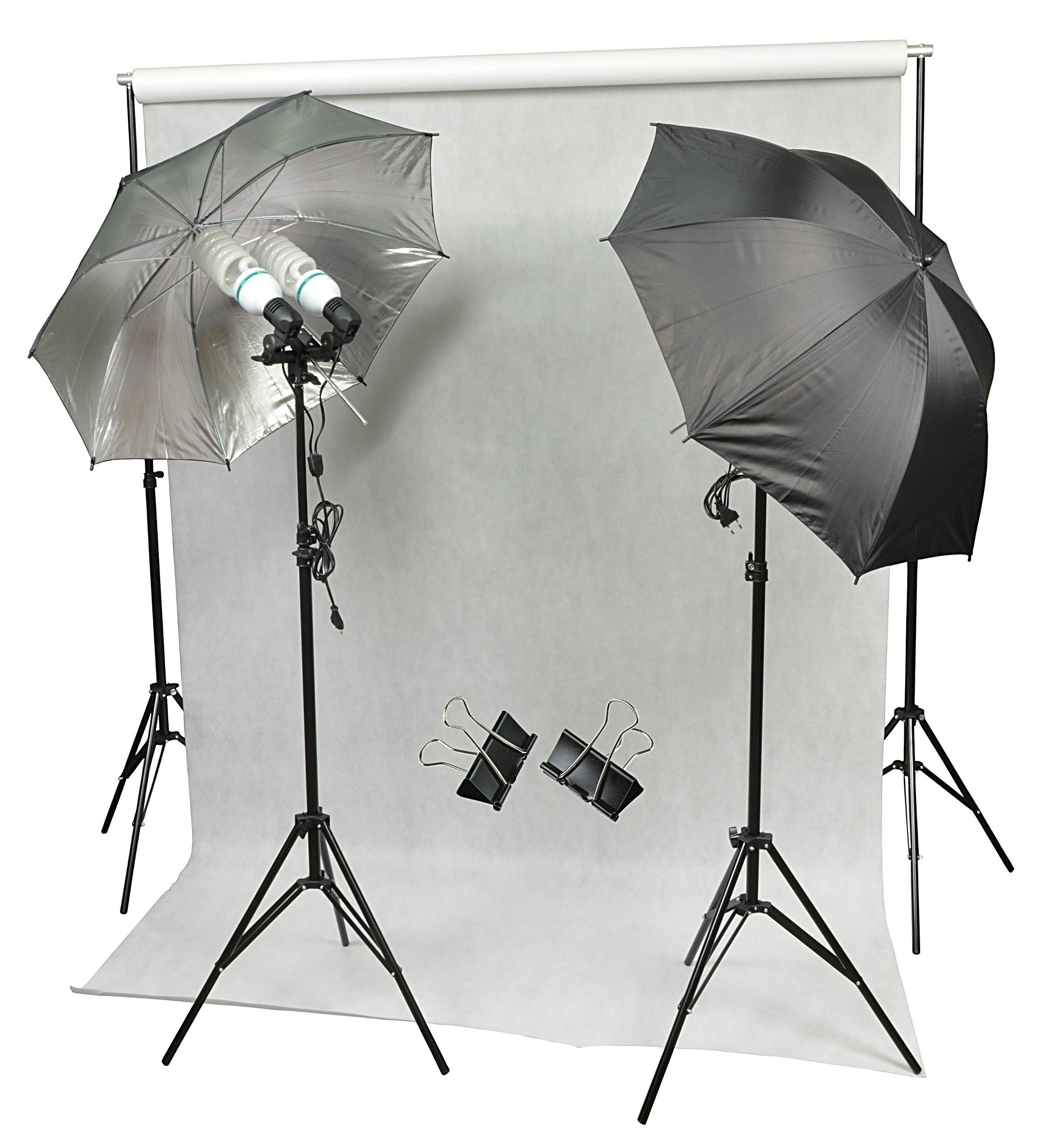Zestaw Domowe Studio 4x125w Tło Fotograficzne Sklep Fotograficzny Inbest Akcesoria Foto Video