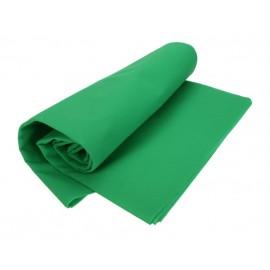 Tło materiałowe ZIELONE 3x6m GREEN SCREEN BOX