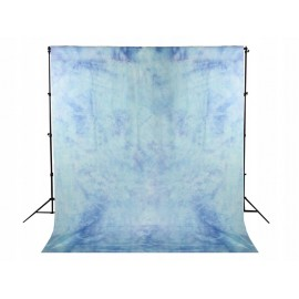 TŁO materiałowe GNIECIUCH 2.8x5m BAWEŁNA niebieski