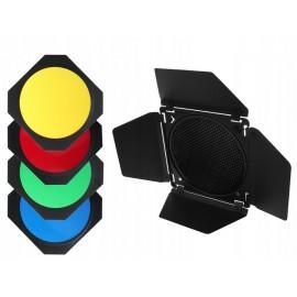 Wrota + 4 filtry + Plaster miodu na lampę o średnicy od 15 do 19 cm