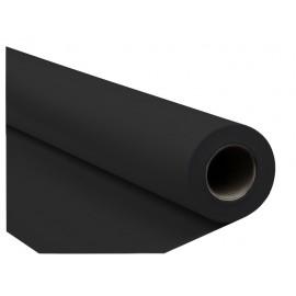 TŁO FOTOGRAFICZNE KARTONOWE 1.35x5m BLACK CZARNE