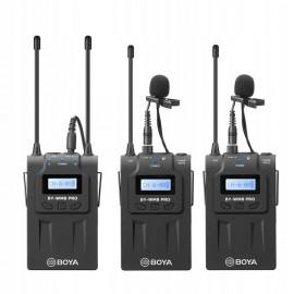MIKROFON BEZPRZEWODOWY BY-WM8 Pro K2 mikroport UHF