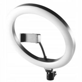 LAMPA PIERŚCIENIOWA USB LED 40W smartfon SELFIE