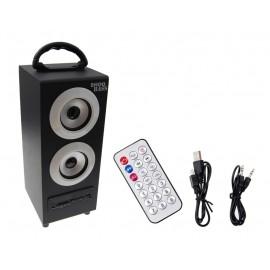 Głośnik przenośny 11W Radio FM USB MP3 SD PILOT