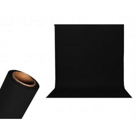 TŁO STUDYJNE KARTONOWE 2.2x5.5m USA BLACK czarny