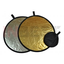 Blenda srebrno-złota 82cm