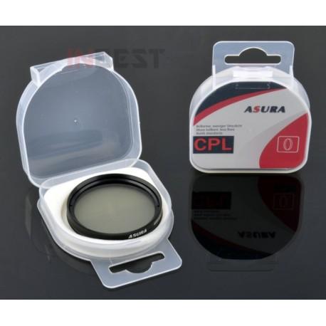 Filtr polaryzacyjny kołowy CPL 62mm