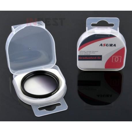 Filtr połówkowy szary 58mm ASURA