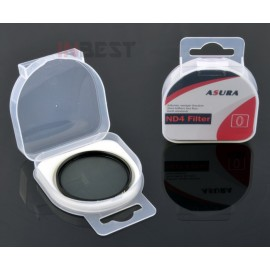 Filtr pełny szary NDx4 62mm