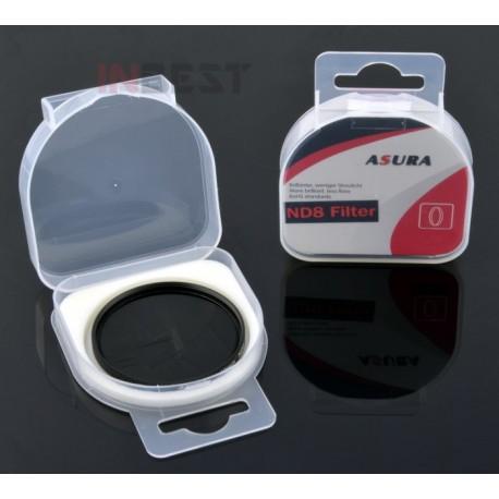 Filtr pełny szary NDx8 55mm