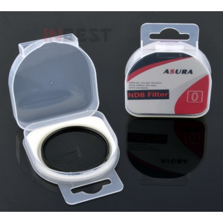 Filtr pełny szary NDx8 72mm