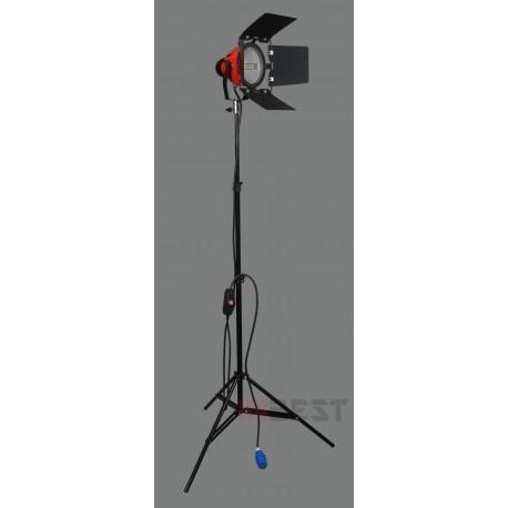 LAMPA ŚWIATŁA STAŁEGO 3200K MOC 800W + STATYW 220cm
